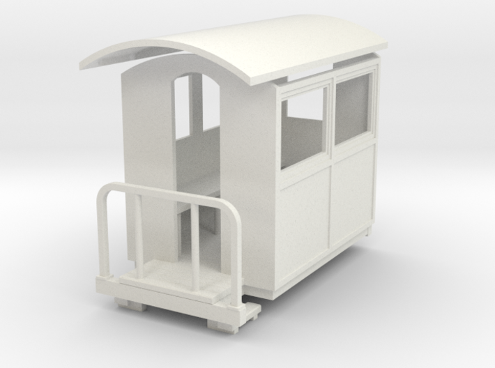 55n9 Small closed coach 3d printed