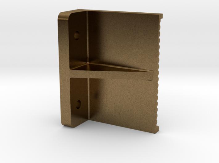 """3/4"""" boiler step, flat back mount 3d printed"""