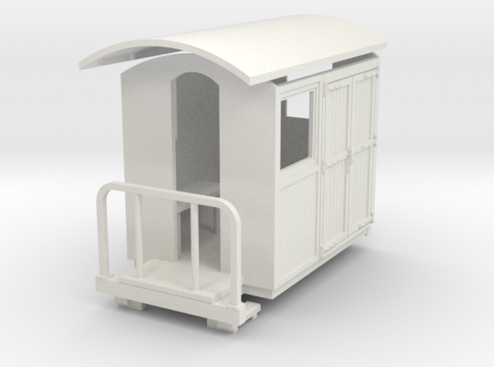 55n9 Guard luggage van 3d printed