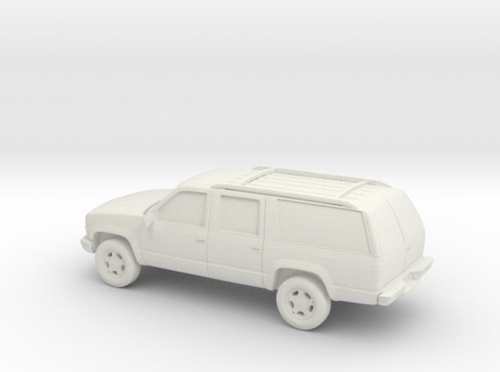 1/100 1999 Chevrolet Suburban 3d printed