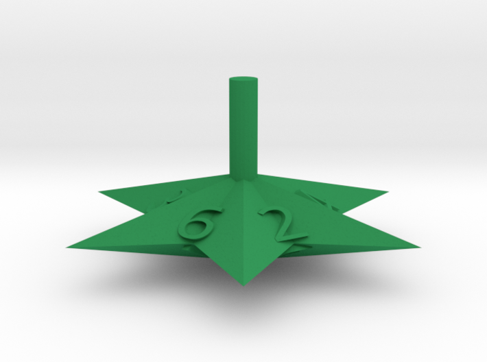 6 Sided Star Top 3d printed