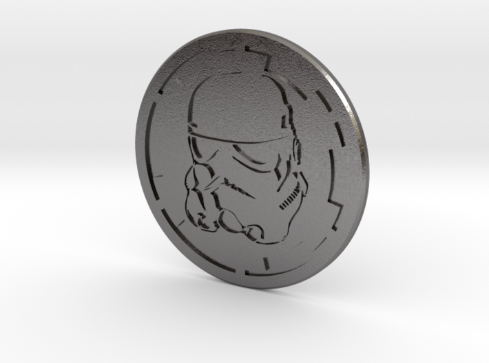 Trooper Challenge coin 3d printed