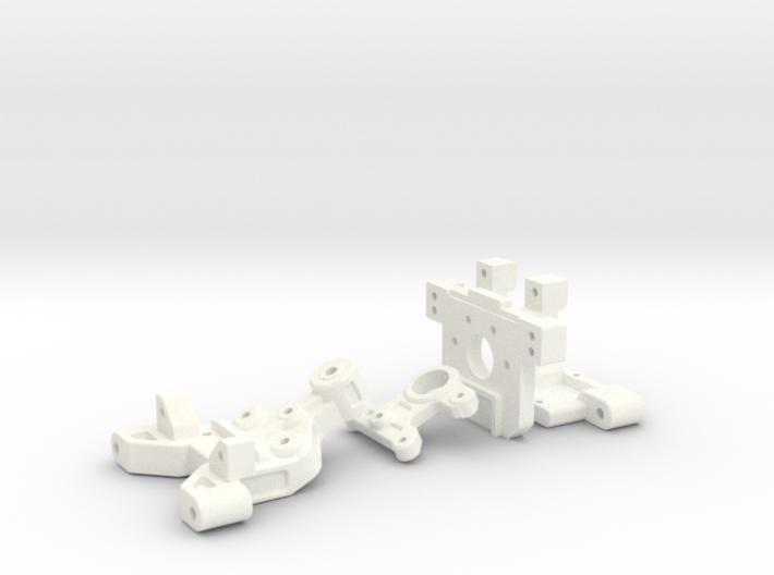 NRC-32 Arm Mounts & Bulkhead 3d printed