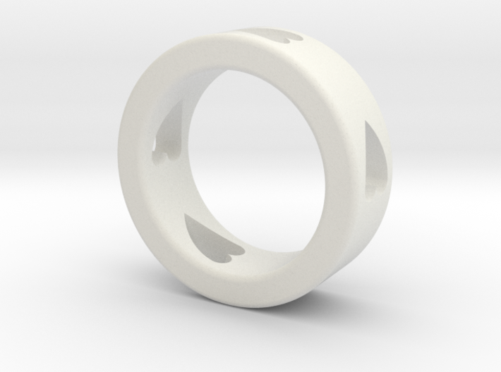 LOVE RING Size-9 3d printed
