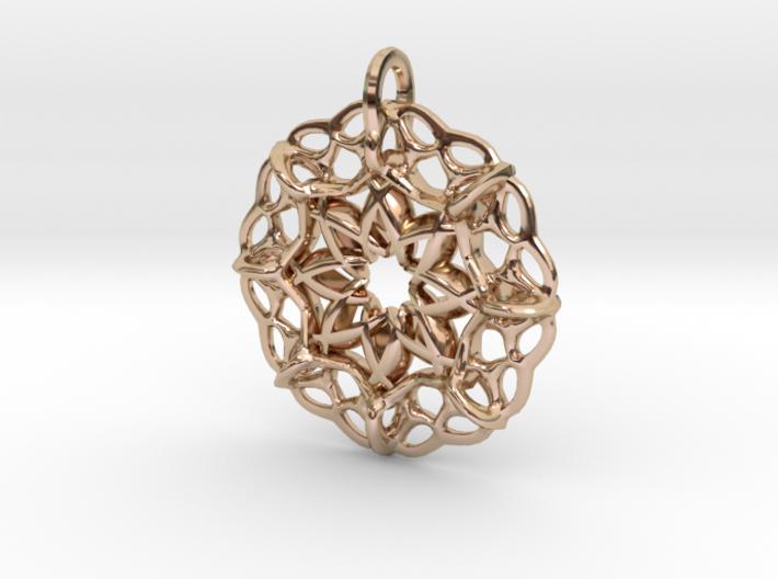 Star-shaped locket 3d printed