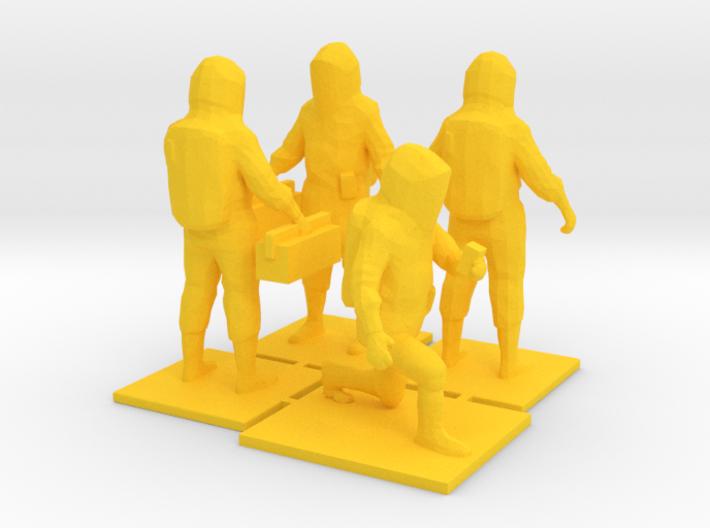 Hazmat Team 1, Multiple Scales 3d printed