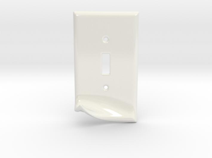 Peel Key Hook - Ceramic 3d printed