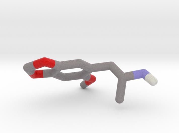 MMDA 2(2-methoxy-4,5-methylendioxy-amphetamine) 3d printed