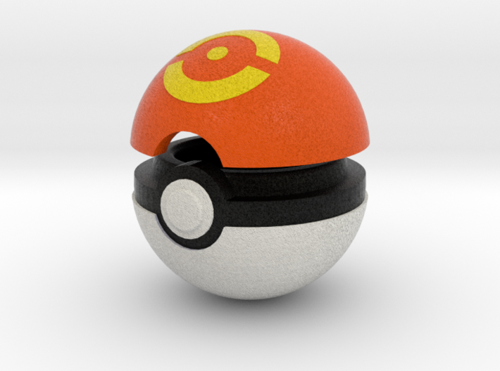 Pokeball (Sport) 3d printed