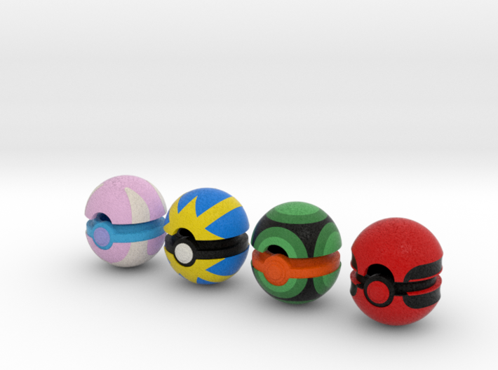Pokeballs (Set 06) 3d printed