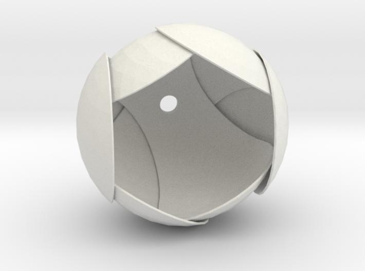 Pendant-Ball3Spheres 3d printed