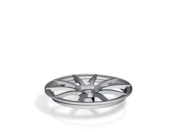 Racing Wheel Cover 12_56mm 3d printed