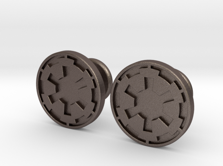 Imperial Cufflinks 3d printed