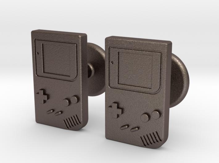 Game Boy Cufflinks 3d printed