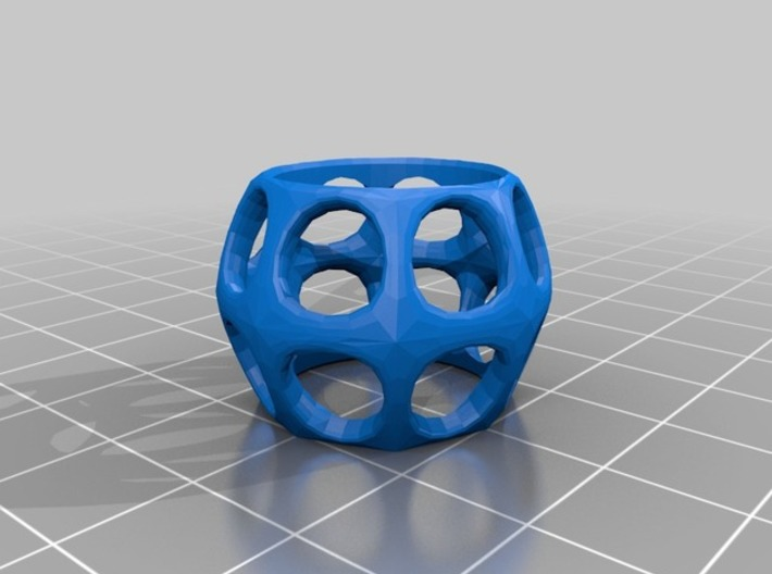 Prime Ring - Holes 3d printed