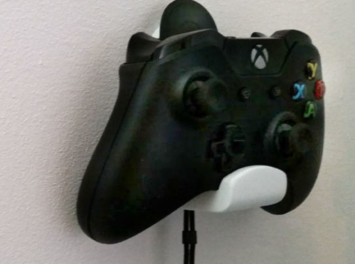 Xbox One & Oculus Remote Wall Mount 3d printed