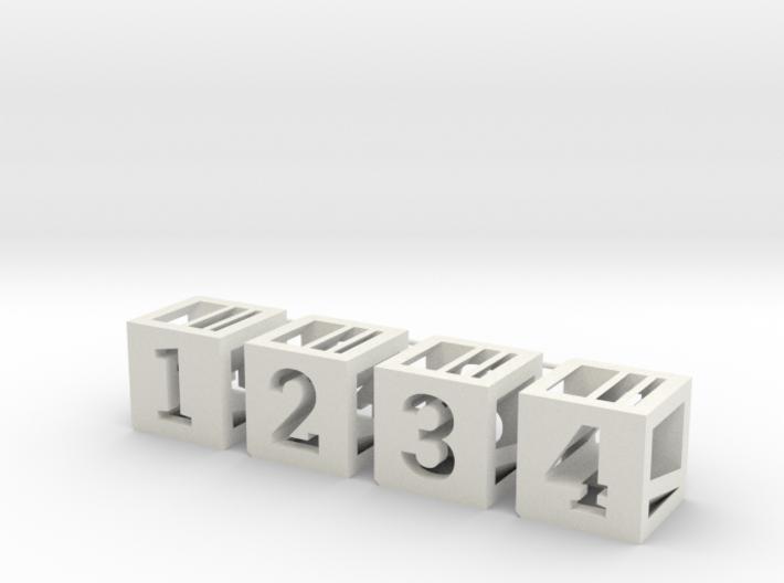 Photogrammatic Assembled Cube Sprue 3d printed