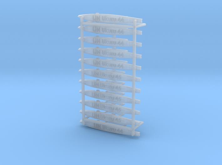 IJN DE Ukuru 1/1250 3d printed