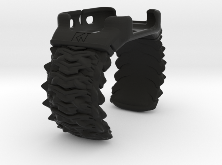 Spikey Combine Cuff Medium Iwatch 42mm Case 3d printed