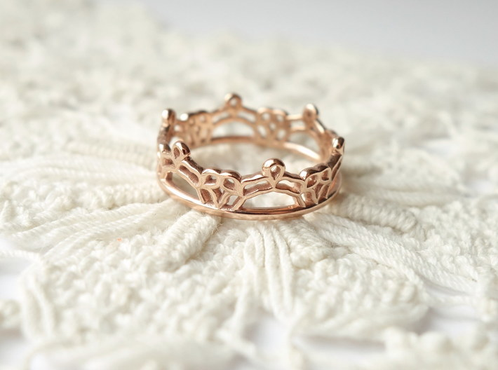 Lace Wrap Ring - Size 6.5 3d printed