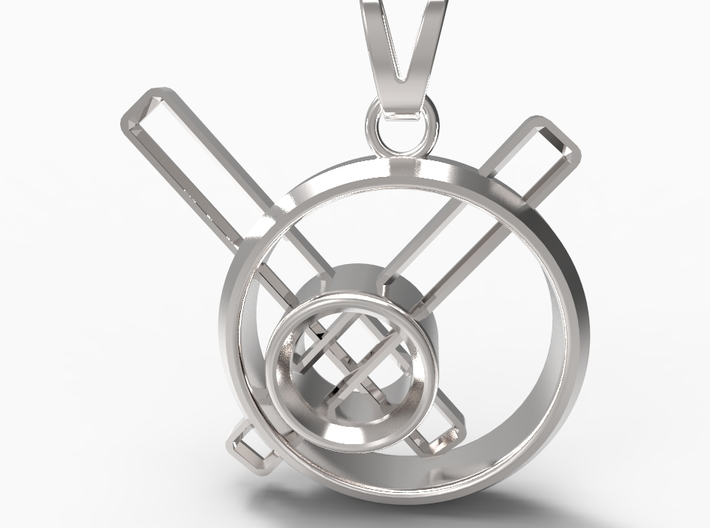 Stopped Time Pendant 3d printed