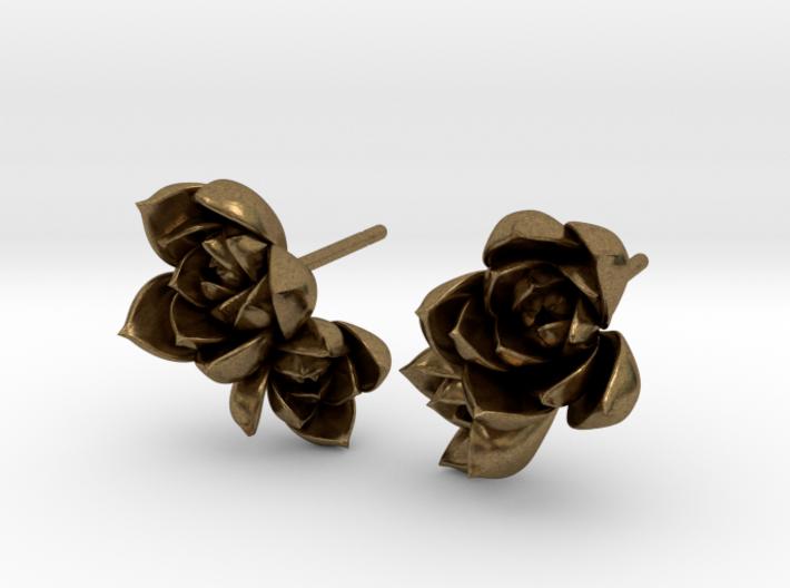 Succulent No. 2 Post Studs 3d printed