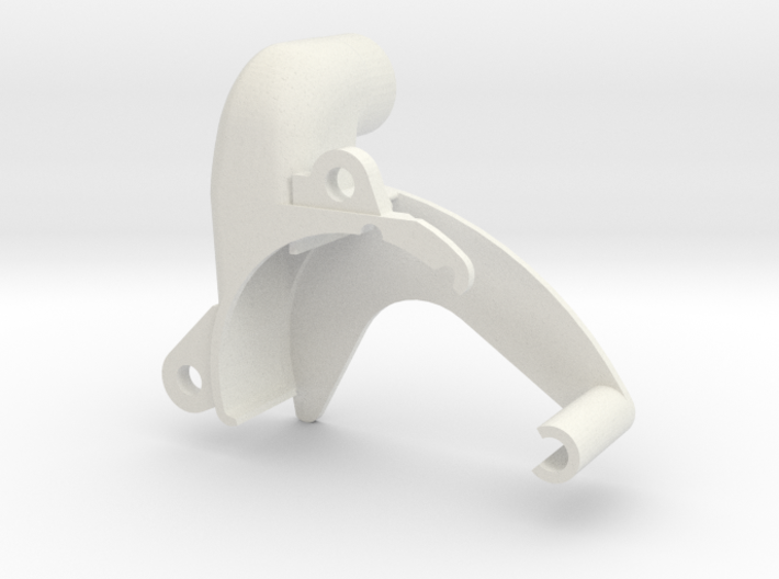 U64Adaptor REV 3 3d printed Adaptor for U64 Micronel Blower