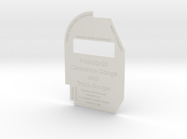 Proto32n20 Clearance Gauge 3d printed