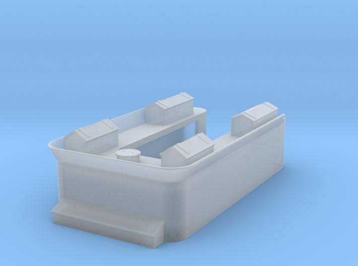 Mantua - Grant Tender Shell No Rivets 3d printed