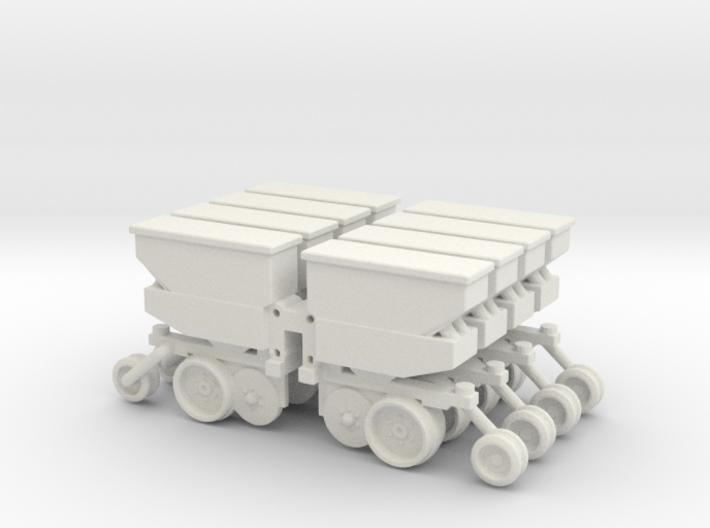 8 Row Deutz Units 3d printed