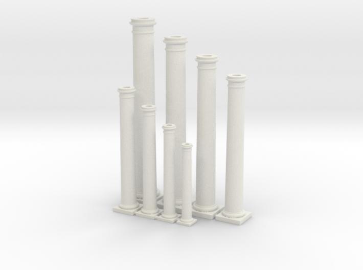 Doric Columns Basic Range 3d printed