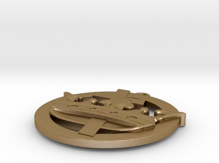 Jehovistic Medallion 3d printed