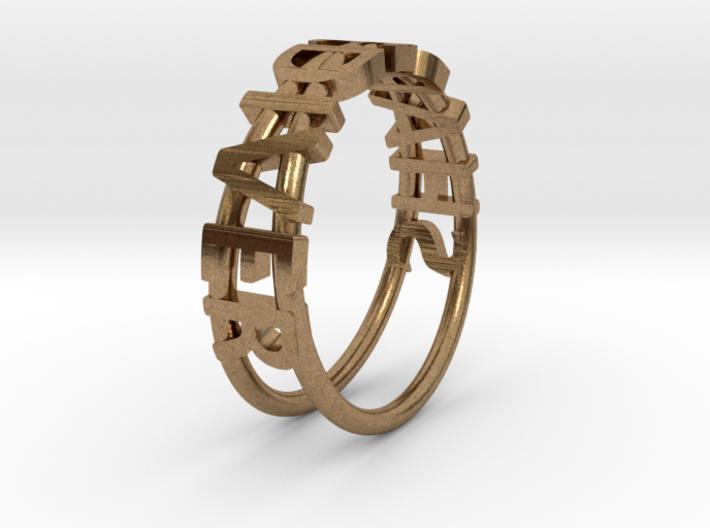 ShapeDiver Ring 3d printed