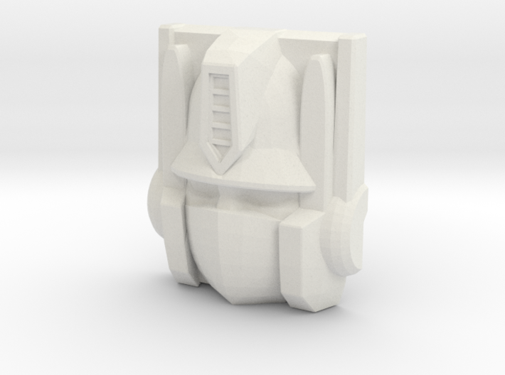 Optimus Prime Face, Sunbow (Titans Return) 3d printed