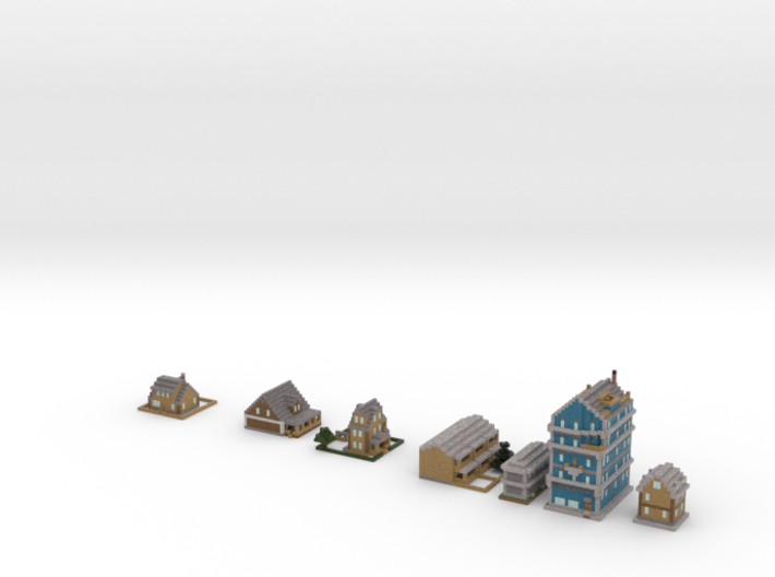 Houses 3d printed