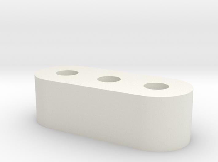 Oblong Glide for Norka Futon 3d printed
