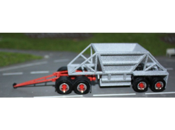 000499 Botton Dump Trailer HO 3d printed