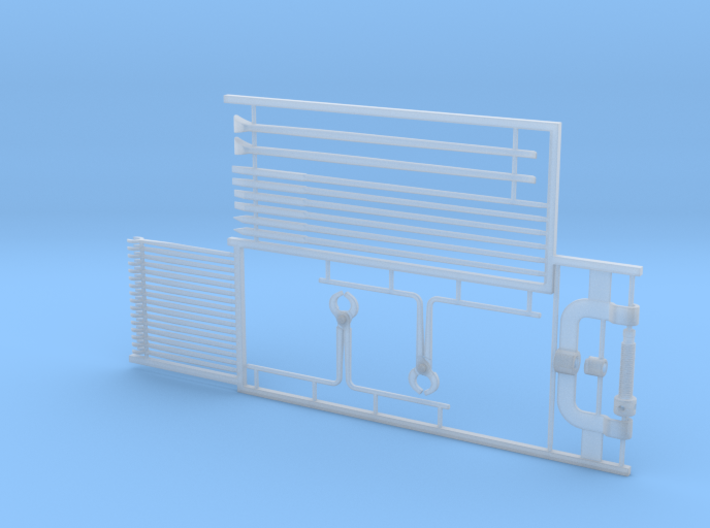 1:24 Railway Tools Set 3d printed