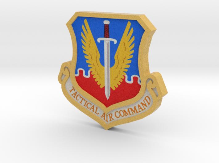 TAC 3d Logo 3d printed