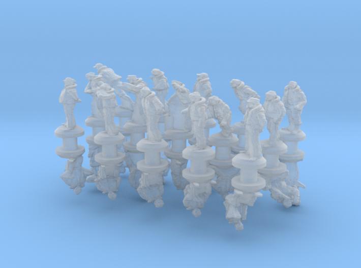 1-285 Merchant Navy Crew Set 2 3d printed