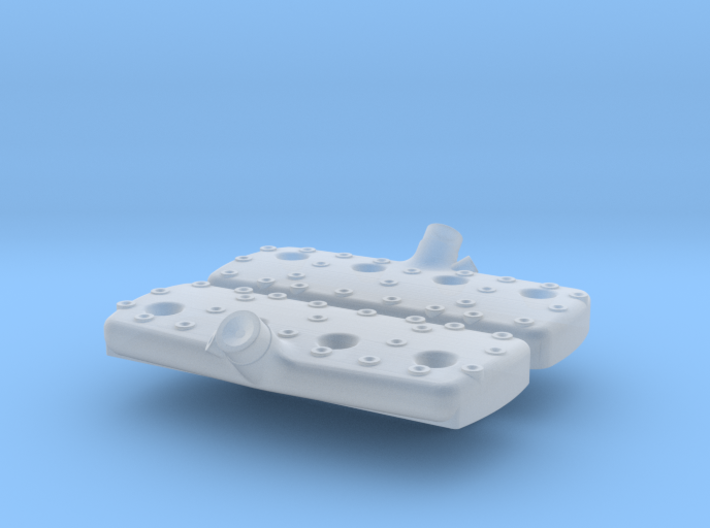 1/43 Flat Head Ford Smooth Heads 3d printed
