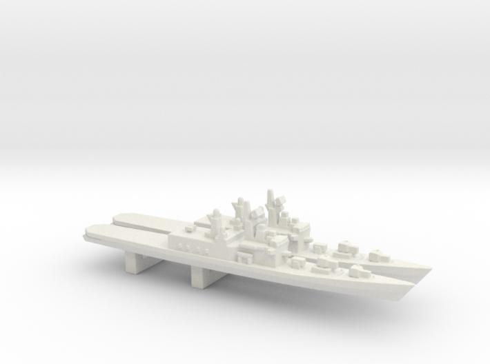 Shirane-class destroyer x 2, 1/3000 3d printed