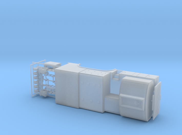 1/87th Fuel Lube tandem Axle service truck body 3d printed