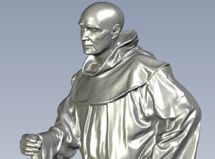 1/15 scale Catholic priest monk figure B 3d printed