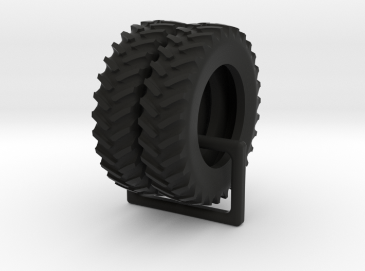 Tractor 5c Hollowed 1/64 scale / 18.4-R42 tires 3d printed
