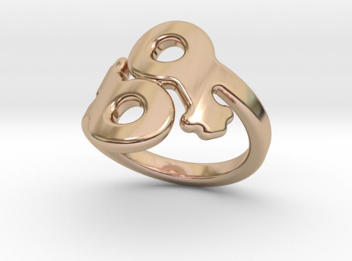 Saffo Ring 24 – Italian Size 24 3d printed