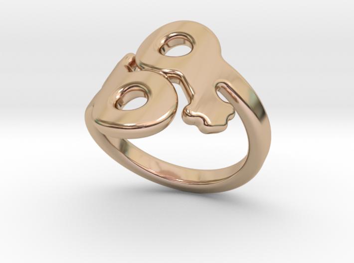 Saffo Ring 25 – Italian Size 25 3d printed