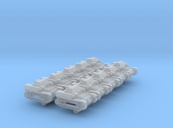 T27a Tankette (6mm, 10-up) 3d printed