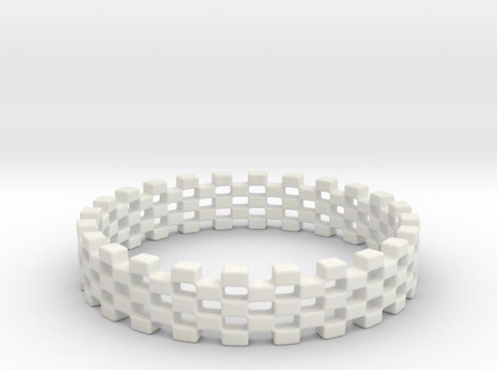 Continum Ring (US Size-7) 3d printed