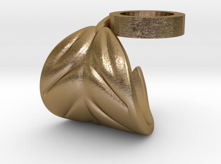 FLEURISSANT - Leaf ring #2 3d printed